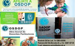 OSDoP, la obra social del docente privado