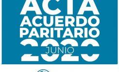 Cuadernillo sobre el Acta Paritaria del 4/6/2020