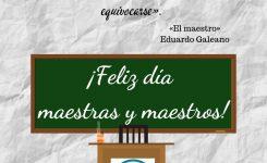 ¡¡FELIZ DÍA  del MAESTRO!!