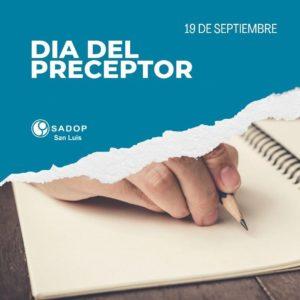 Lee más sobre el artículo ¡¡FELIZ DÍA del PRECEPTOR!!