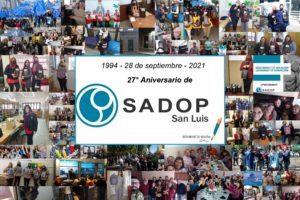 Lee más sobre el artículo 27° Aniversario de la seccional SADoP San Luis