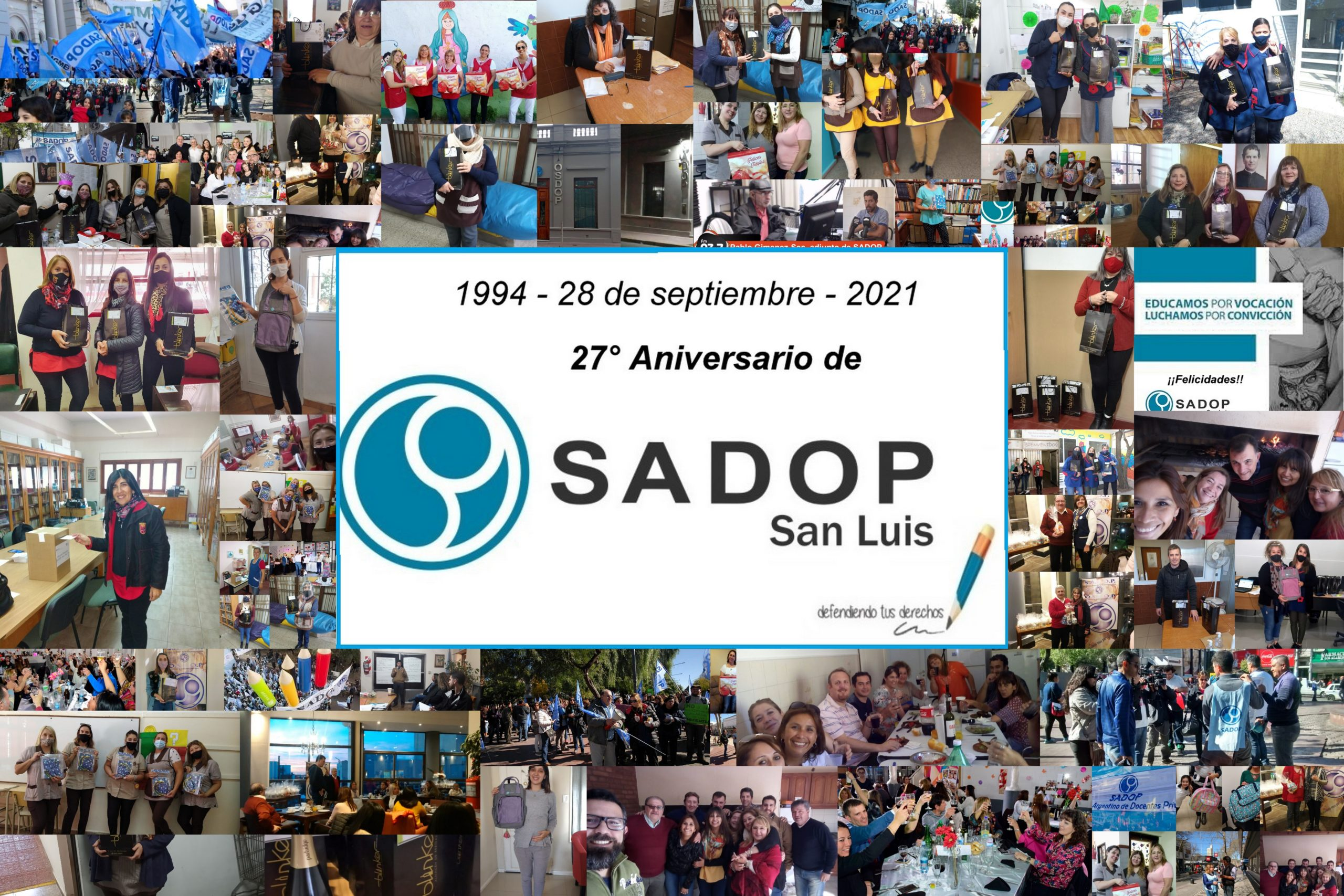 En este momento estás viendo 27° Aniversario de la seccional SADoP San Luis