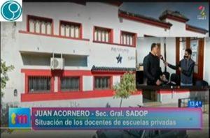 Lee más sobre el artículo SADoP en defensa de puestos laborales de docentes del Inst. Santo Tomás de Aquino
